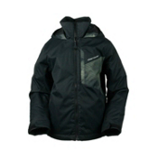Obermeyer Ridge Boys Ski Jacket, Black, medium