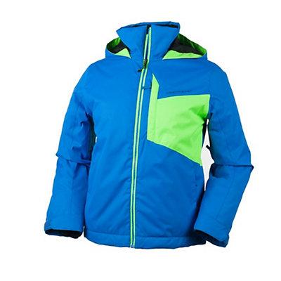 Obermeyer Ridge Teen Boys Ski Jacket, Sonic Blue, viewer