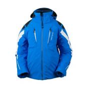 Obermeyer Mach 7 Boys Ski Jacket, Sonic Blue, medium