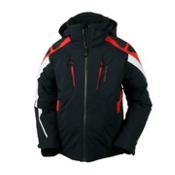 Obermeyer Mach 7 Boys Ski Jacket, Black, medium