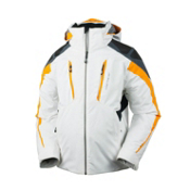 Obermeyer Mach 7 Boys Ski Jacket, Habanero, medium