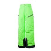 Obermeyer Pro Teen Boys Ski Pant, Glowstick, medium