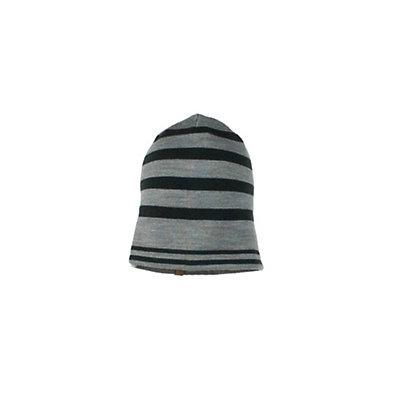 Obermeyer Traverse Knit Teen Boys Hat, Heather Grey, viewer