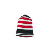 Obermeyer Traverse Knit Hat Kids Hat, Lava, medium