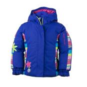 Obermeyer Pico Toddler Girls Ski Jacket, Regal Blue, medium