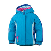 Obermeyer Pico Toddler Girls Ski Jacket, Bluebird, medium