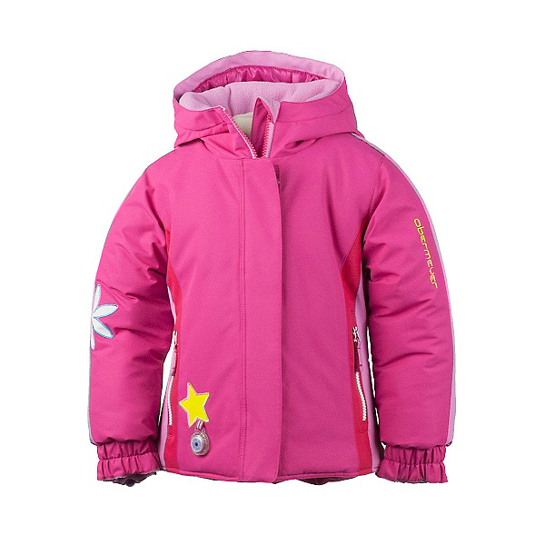 Obermeyer Pico Toddler Girls Ski Jacket, Wild Pink, 600