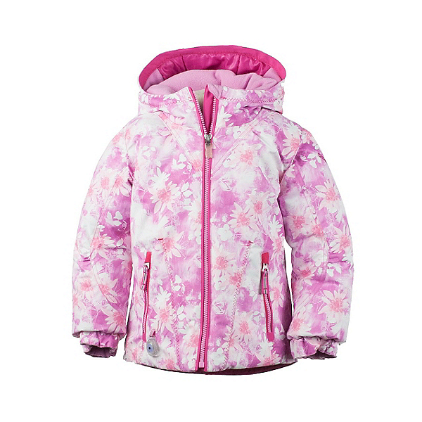 Obermeyer Arielle Toddler Girls Ski Jacket, Pink Alpen Print, 600