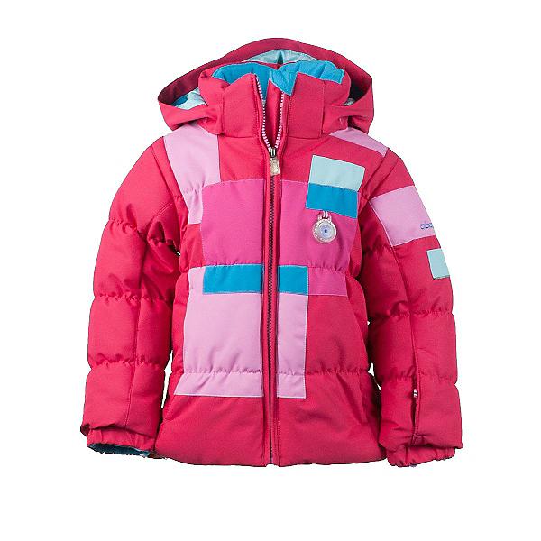 Obermeyer Kitt Toddler Girls Ski Jacket, Rouge, 600