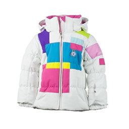 Obermeyer Kitt Toddler Girls Ski Jacket, White, 256