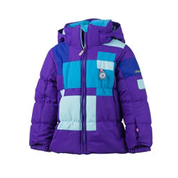 Obermeyer Kitt Toddler Girls Ski Jacket, Iris Purple, 256