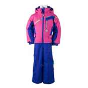 Obermeyer Starlet Toddlers One Piece Ski Suit, Carnival Stripe, medium