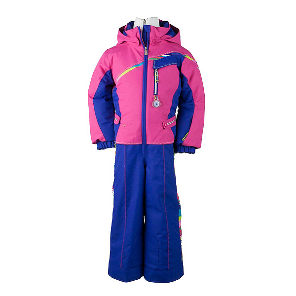 Obermeyer Starlet Toddler Girls One Piece Ski Suit, , 600