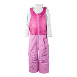 Obermeyer Chacha Bib Toddler Girls Ski Pants, Rosebud, 256