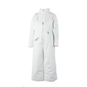 Obermeyer Snoverall Toddler Girls Ski Pants, White, medium