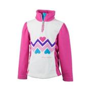 Obermeyer Ric-Rac Fleece Kids Midlayer, Wild Pink, medium