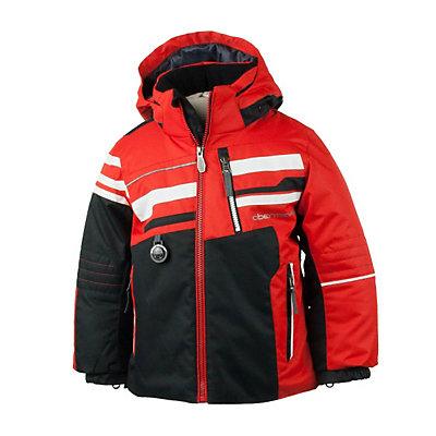 Obermeyer Stryker Toddler Ski Jacket, Lava, viewer