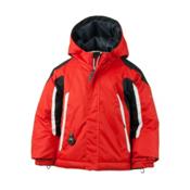 Obermeyer Cruise Toddler Boys Ski Jacket, Lava, medium