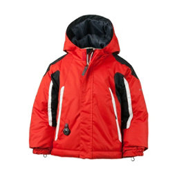 Obermeyer Cruise Toddler Boys Ski Jacket, Lava, 256