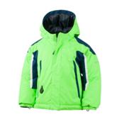Obermeyer Cruise Toddler Boys Ski Jacket, Glowstick, medium