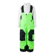 Obermeyer Volt Toddlers Ski Pants, Glowstick, medium