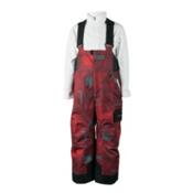 Obermeyer Volt Print Toddler Boys Ski Pants, Red Groomer Print, medium