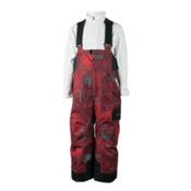 Obermeyer Volt (Print) Toddlers Ski Pants, Red Groomer Print, medium