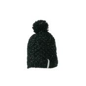 Obermeyer Sunday Knit Kids Hat, Black, medium