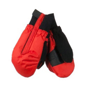 Obermeyer Thumbs Up Mitten Toddlers Mittens, Lava, medium