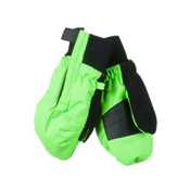 Obermeyer Thumbs Up Toddler Mittens, Glowstick, medium