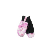 Obermeyer Thumbs Up Print Toddlers Mittens, Pink Alpen Print, medium