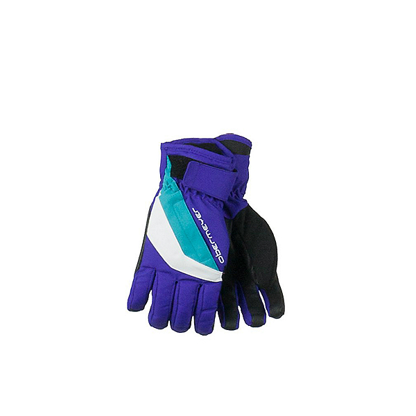 Obermeyer Alpine Teen Girls Gloves, Purple Reign, 600