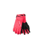 Obermeyer Alpine Girls Gloves, Day Glow Pink, medium