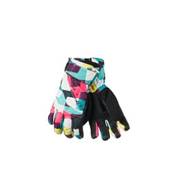 Obermeyer Alpine Teen Girls Gloves, Sugar Rush Print, 256