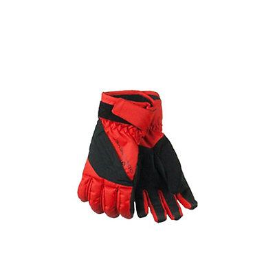 Obermeyer Alpine Kids Gloves, Lava, viewer