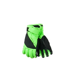 Obermeyer Alpine Kids Gloves, Glowstick, 256