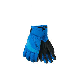 Obermeyer Alpine Kids Gloves, Sonic Blue, 256