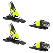 Rossignol Axial3 100 Junior Ski Bindings, Black-Yellow, medium