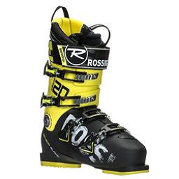 Rossignol AllSpeed 120 Ski Boots, Black-Yellow, 256