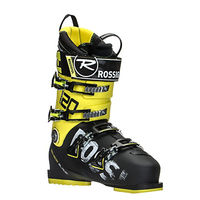 Rossignol AllSpeed 120 Ski Boots, Black-Yellow, viewer
