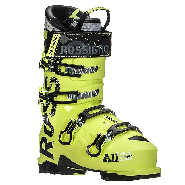 Rossignol AllTrack Pro 130 WTR Ski Boots 2017, Acid Yellow, 600