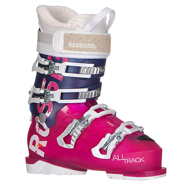 Rossignol AllTrack 70 W Womens Ski Boots, Pink-Violet, 600