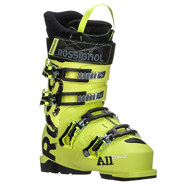Rossignol AllTrack Jr. 80 Kids Ski Boots, Acid Yellow, 600