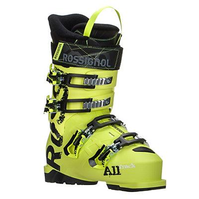 Rossignol AllTrack Jr. 80 Kids Ski Boots, Acid Yellow, viewer