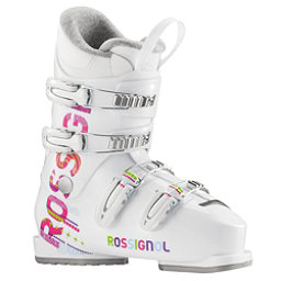Rossignol Fun Girl J4 Girls Ski Boots, White, 256