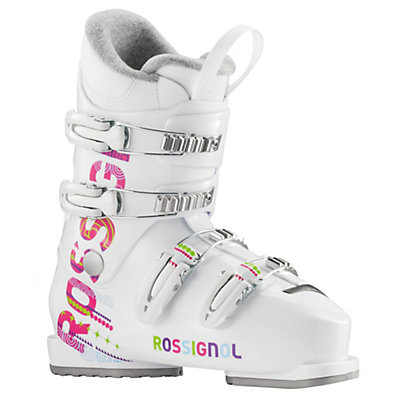 Rossignol Fun Girl J4 Girls Ski Boots 2017, White, viewer