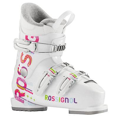 Rossignol Fun Girl J3 Girls Ski Boots 2017, White, viewer