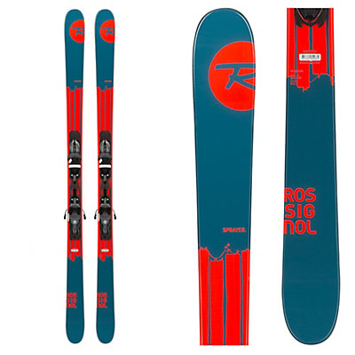 rossignol sprayer skis with xelium 100 bindings 2016. Black Bedroom Furniture Sets. Home Design Ideas