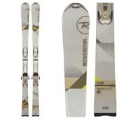 Rossignol Unique 8 Womens Skis with Saphir 110 Bindings, , medium
