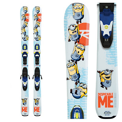 Rossignol Minions Kids Skis with Kid-X 45 Bindings 2017, , viewer